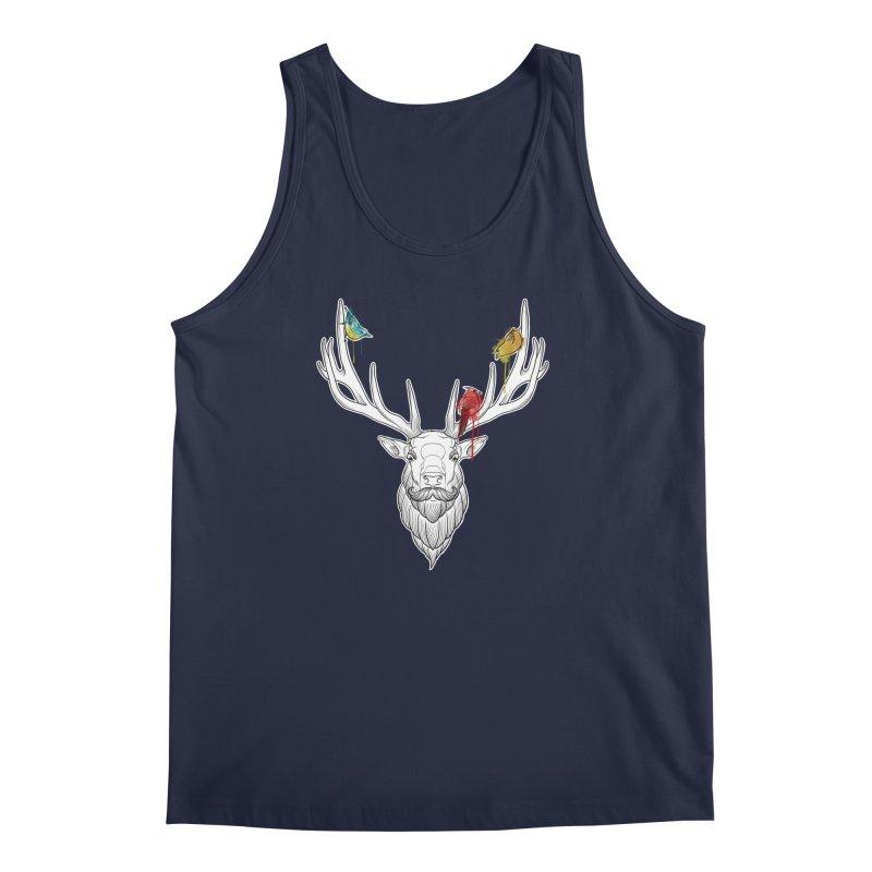 Oh Deer... Men's Tank by Crazy Pangolin's Artist Shop
