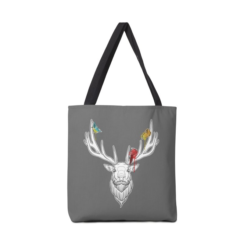 Oh Deer... Accessories Tote Bag Bag by Crazy Pangolin's Artist Shop