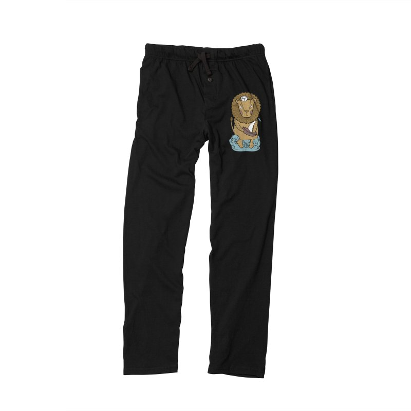 Sailor Lion Women's Lounge Pants by Crazy Pangolin's Artist Shop