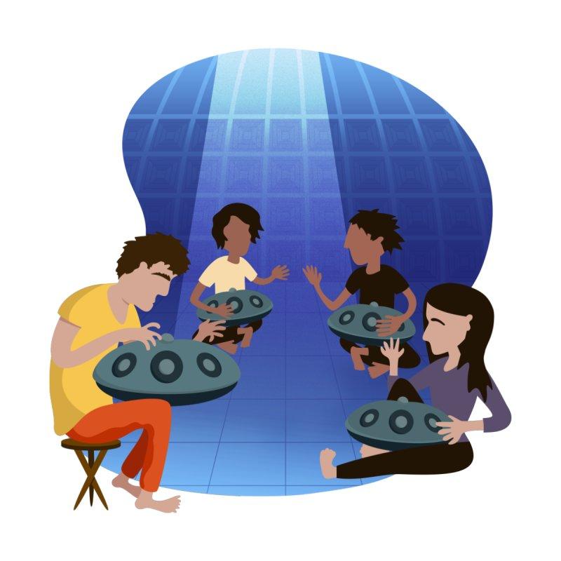 Halo Family Illustration by Pantheon Steel Fan-Art Store