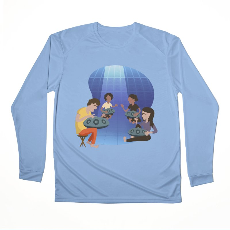Halo Family Illustration Women's Performance Unisex Longsleeve T-Shirt by Pantheon Steel Fan-Art Store