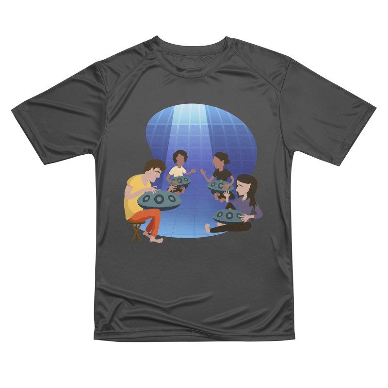 Halo Family Illustration Men's Performance T-Shirt by Pantheon Steel Fan-Art Store
