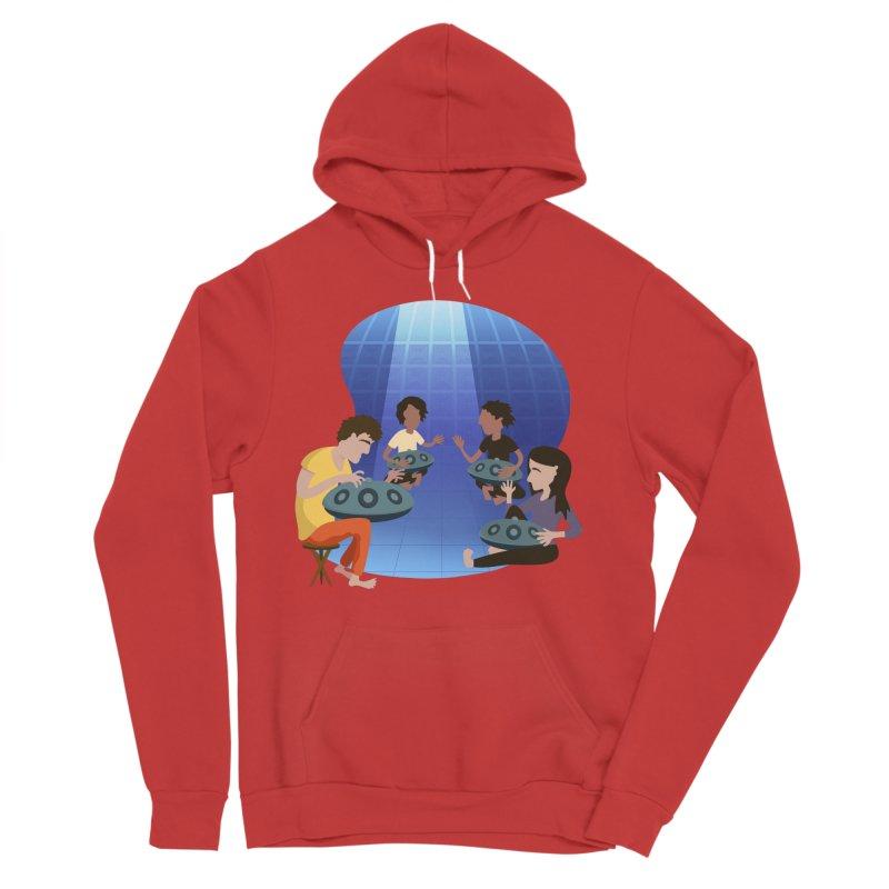 Halo Family Illustration Women's Sponge Fleece Pullover Hoody by Pantheon Steel Fan-Art Store