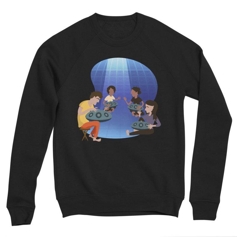 Halo Family Illustration Men's Sponge Fleece Sweatshirt by Pantheon Steel Fan-Art Store