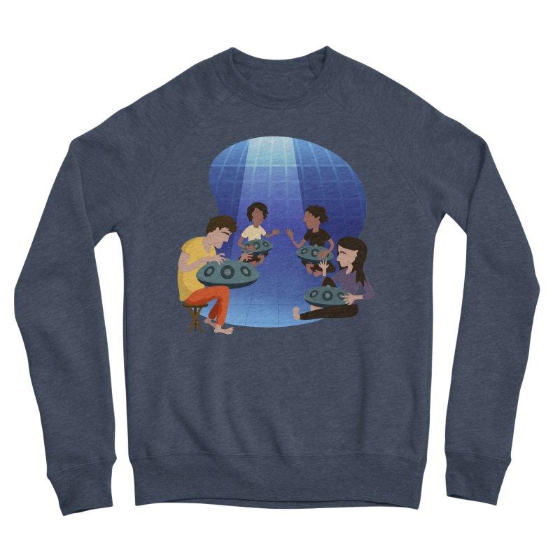 Halo Family Illustration Women's Sponge Fleece Sweatshirt by Pantheon Steel Fan-Art Store