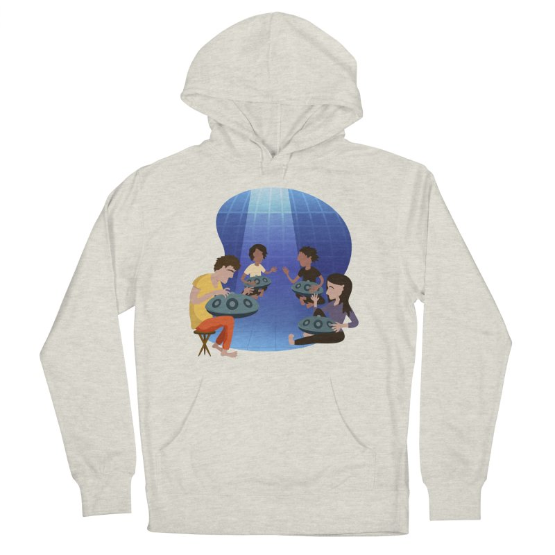 Halo Family Illustration Women's French Terry Pullover Hoody by Pantheon Steel Fan-Art Store