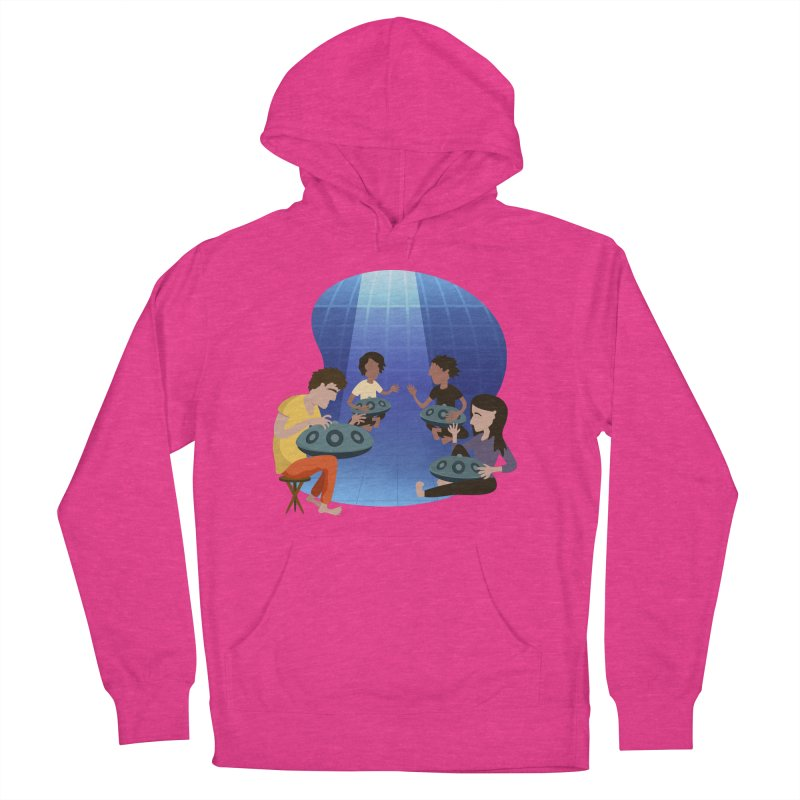 Halo Family Illustration Men's French Terry Pullover Hoody by Pantheon Steel Fan-Art Store