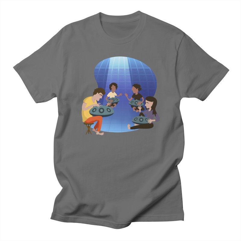 Halo Family Illustration Men's T-Shirt by Pantheon Steel Fan-Art Store