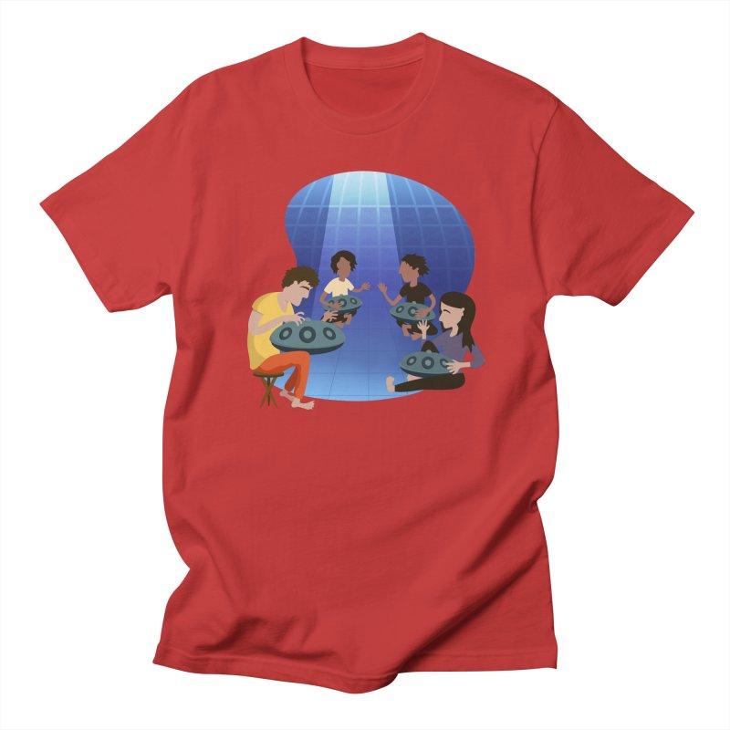 Halo Family Illustration Men's Regular T-Shirt by Pantheon Steel Fan-Art Store