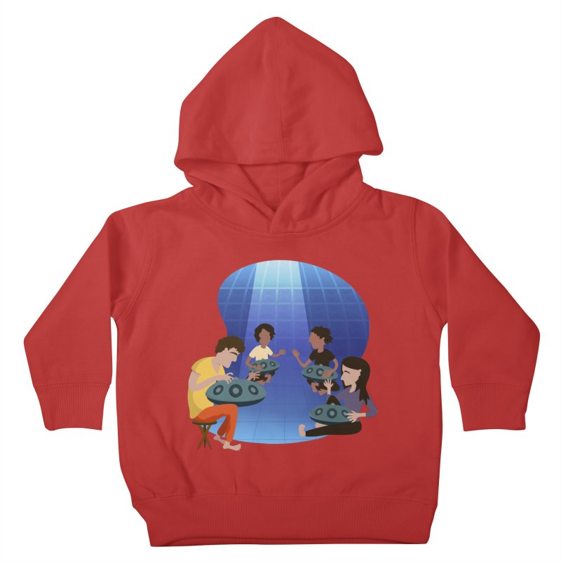 Halo Family Illustration Kids Toddler Pullover Hoody by Pantheon Steel Fan-Art Store