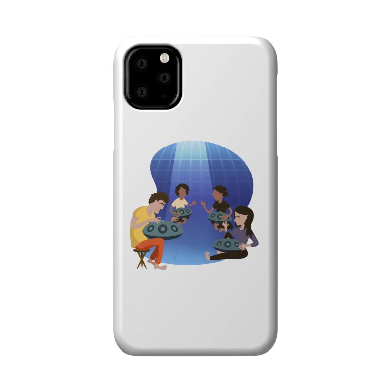 Halo Family Illustration Accessories Phone Case by Pantheon Steel Fan-Art Store