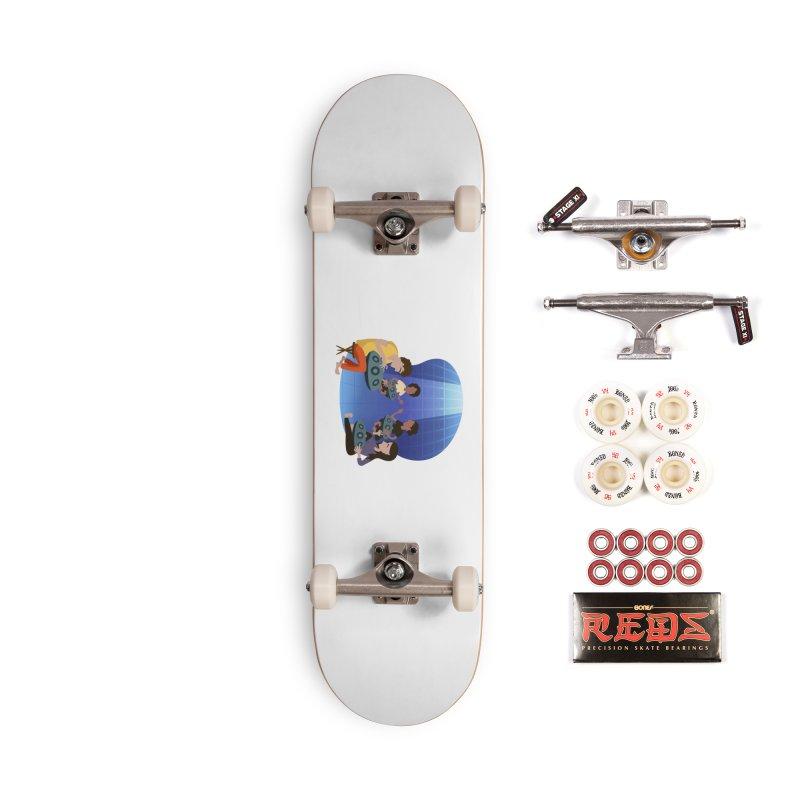 Halo Family Illustration Accessories Complete - Pro Skateboard by Pantheon Steel Fan-Art Store
