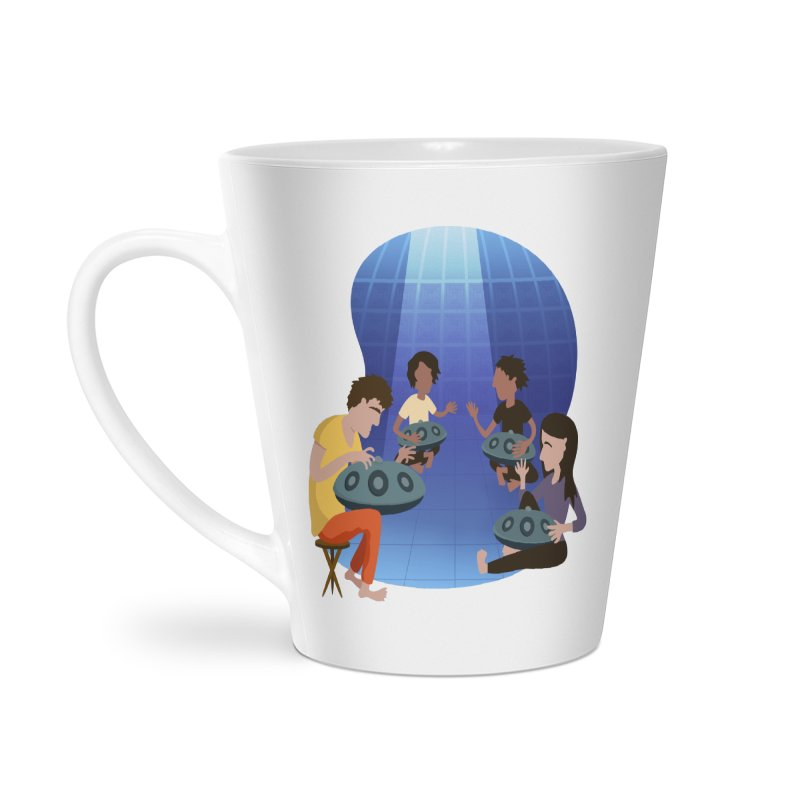 Halo Family Illustration Accessories Latte Mug by Pantheon Steel Fan-Art Store