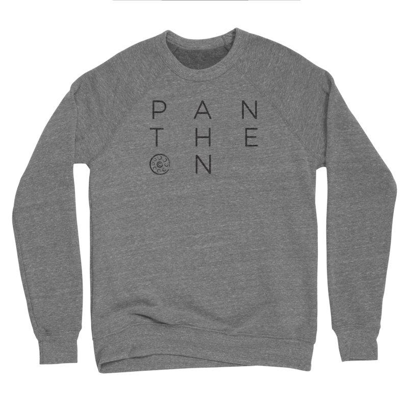 Letters by Shane Caroll Men's Sponge Fleece Sweatshirt by Pantheon Steel Fan-Art Store