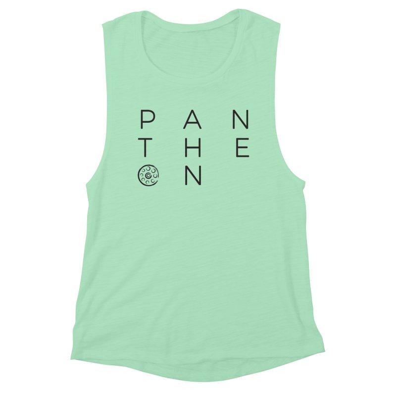 Letters by Shane Caroll Women's Muscle Tank by Pantheon Steel Fan-Art Store