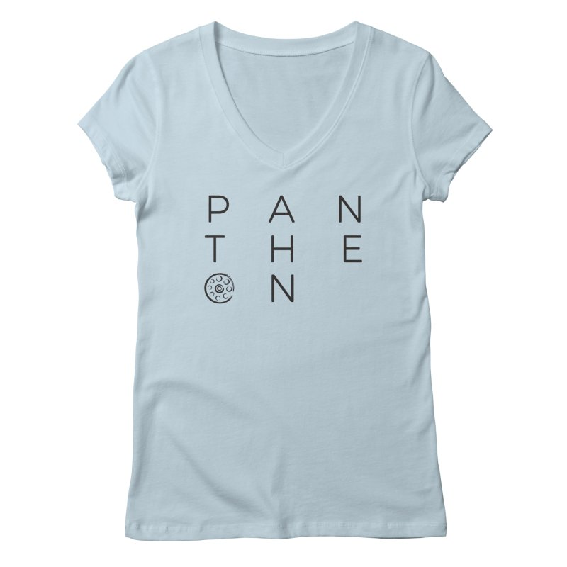 Letters by Shane Caroll Women's Regular V-Neck by Pantheon Steel Fan-Art Store