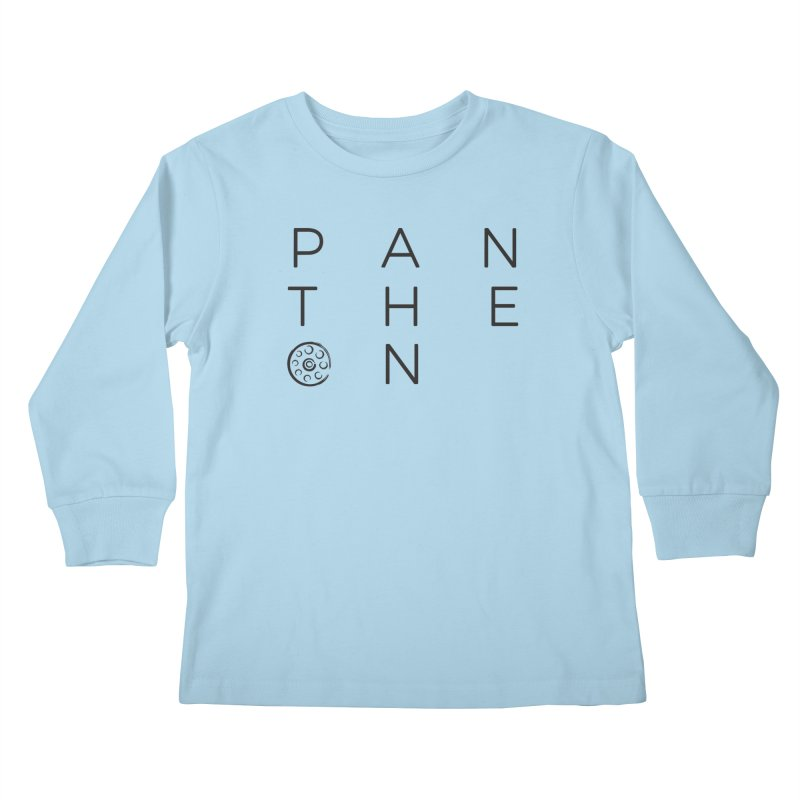 Letters by Shane Caroll Kids Longsleeve T-Shirt by Pantheon Steel Fan-Art Store