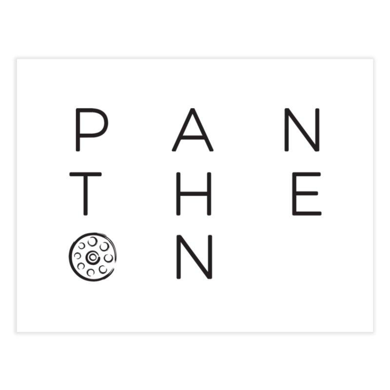 Letters by Shane Caroll Home Fine Art Print by Pantheon Steel Fan-Art Store