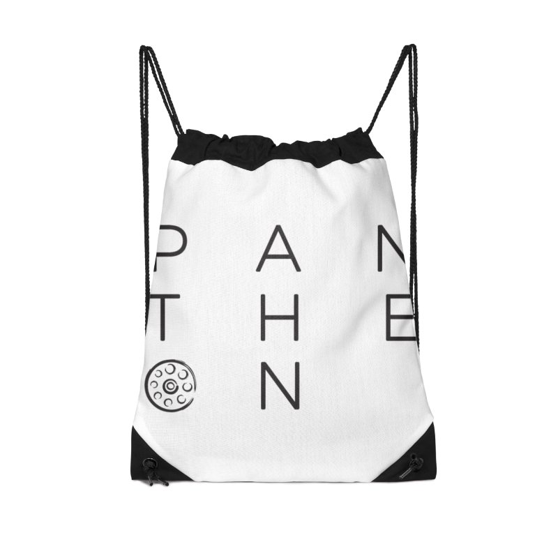 Letters by Shane Caroll Accessories Drawstring Bag Bag by Pantheon Steel Fan-Art Store
