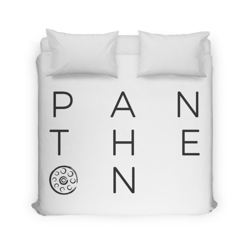 Letters by Shane Caroll Home Duvet by Pantheon Steel Fan-Art Store