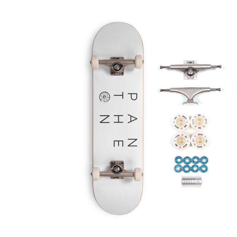 Letters by Shane Caroll Accessories Complete - Premium Skateboard by Pantheon Steel Fan-Art Store