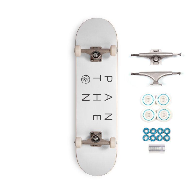 Letters by Shane Caroll Accessories Complete - Basic Skateboard by Pantheon Steel Fan-Art Store