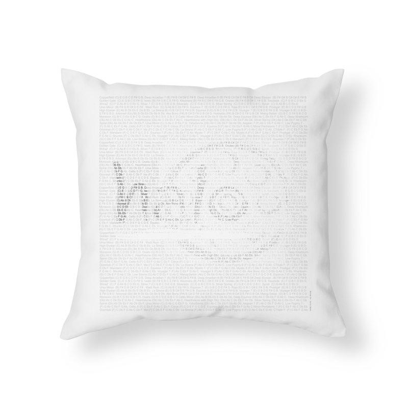 Text Art by Shiva Nouri Home Throw Pillow by Pantheon Steel Fan-Art Store