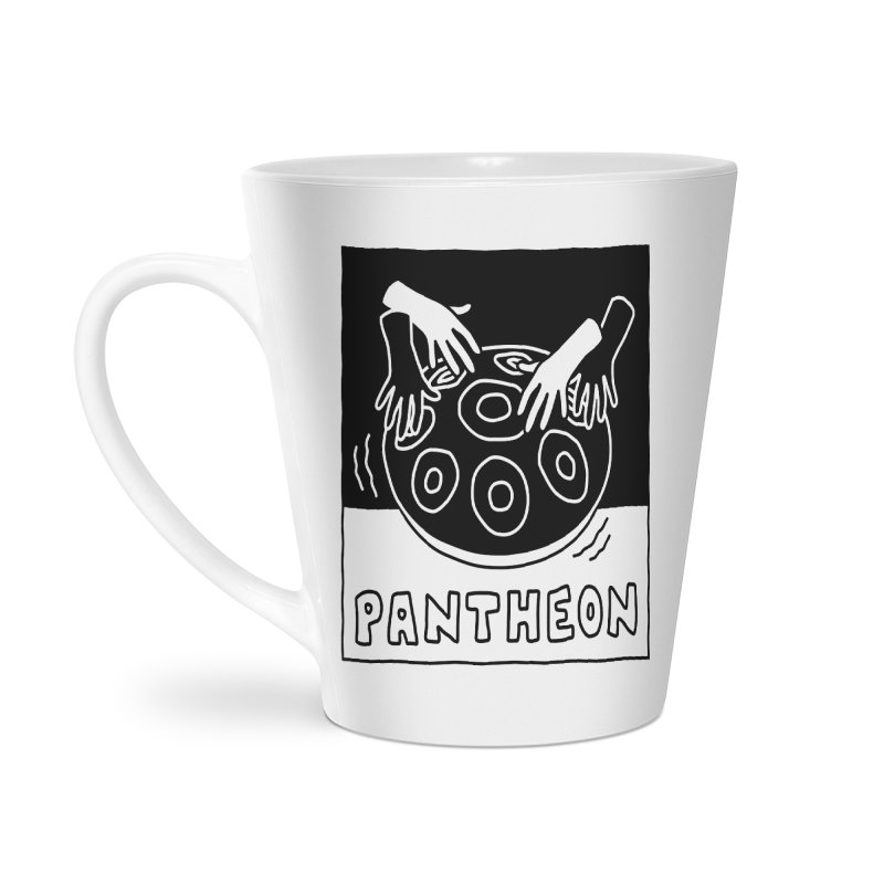 Singing Hands by Anthea Yur Accessories Latte Mug by Pantheon Steel Fan-Art Store