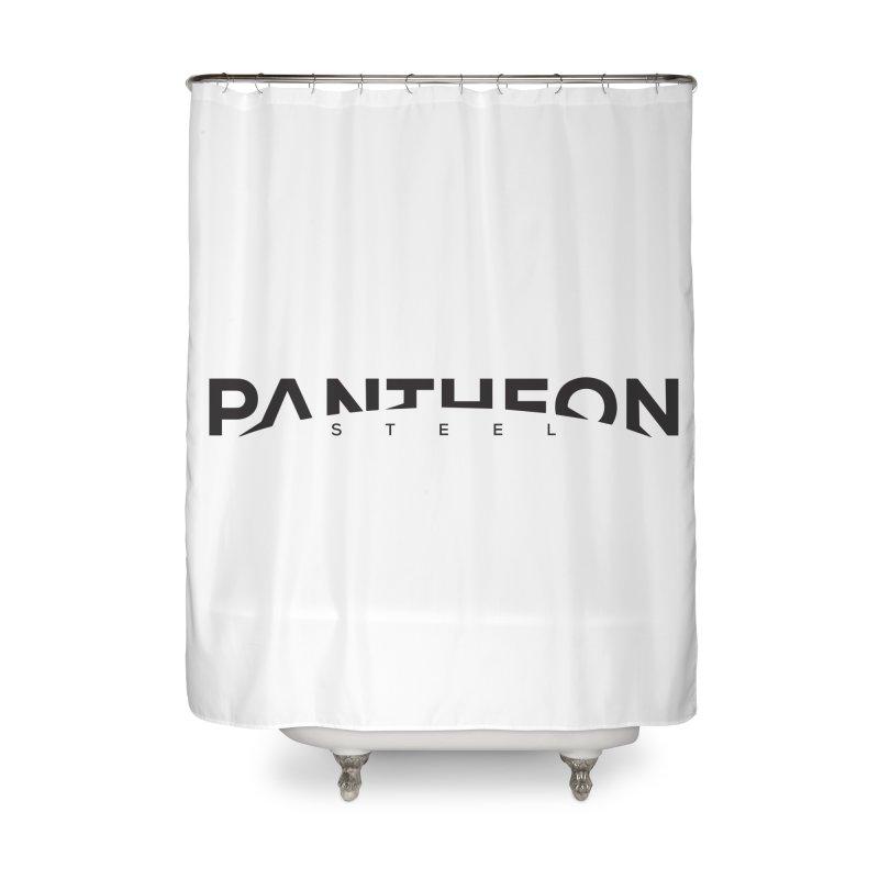 Halorizon by Shane Caroll Home Shower Curtain by Pantheon Steel Fan-Art Store