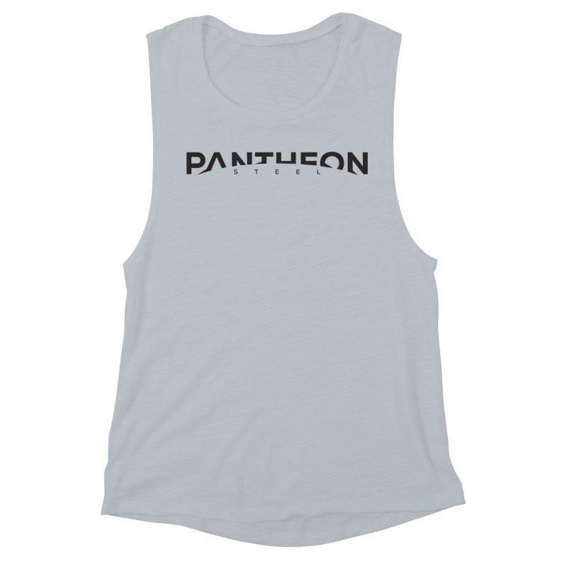 Halorizon by Shane Caroll Women's Muscle Tank by Pantheon Steel Fan-Art Store