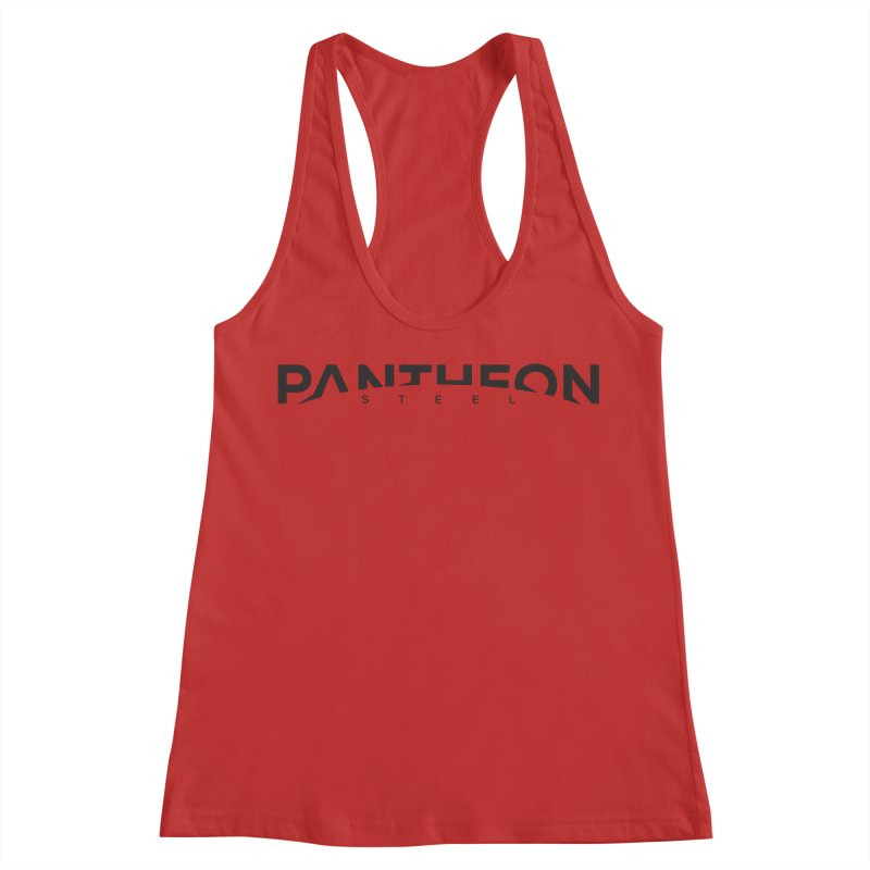 Halorizon by Shane Caroll Women's Racerback Tank by Pantheon Steel Fan-Art Store