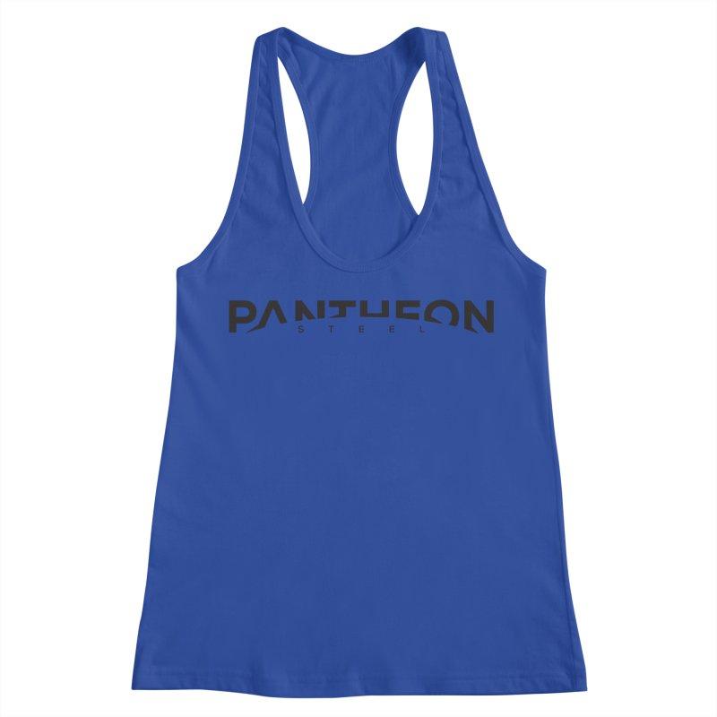 Halorizon by Shane Caroll Women's Racerback Tank by Pantheon Steel Fan-Art Store