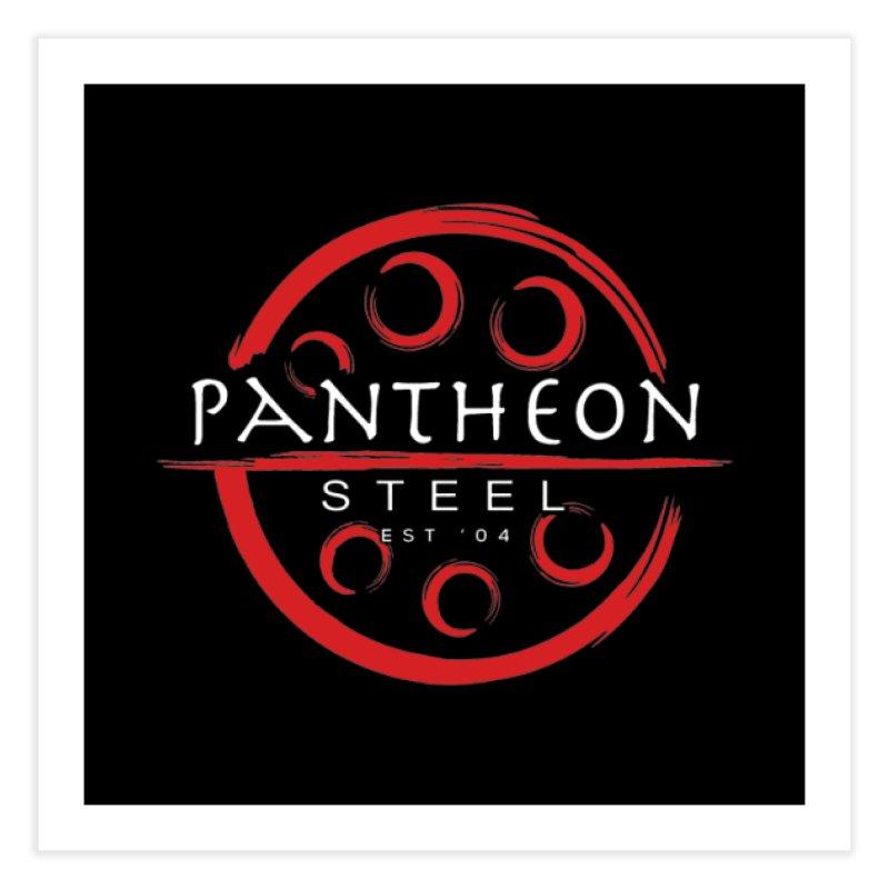 Insignia by Shane Caroll Home Fine Art Print by Pantheon Steel Fan-Art Store