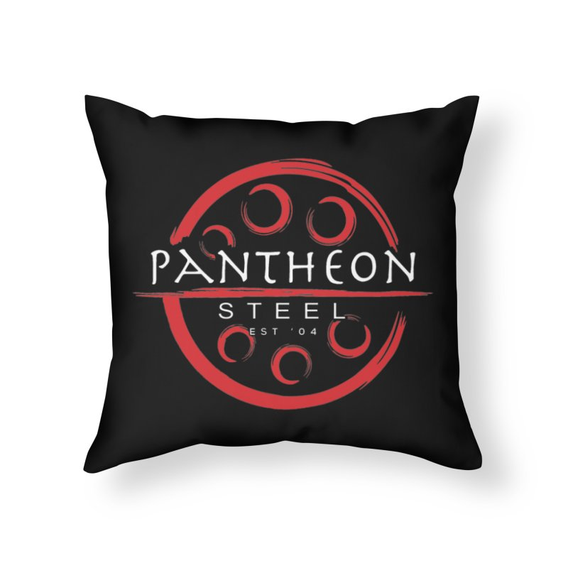 Insignia by Shane Caroll Home Throw Pillow by Pantheon Steel Fan-Art Store