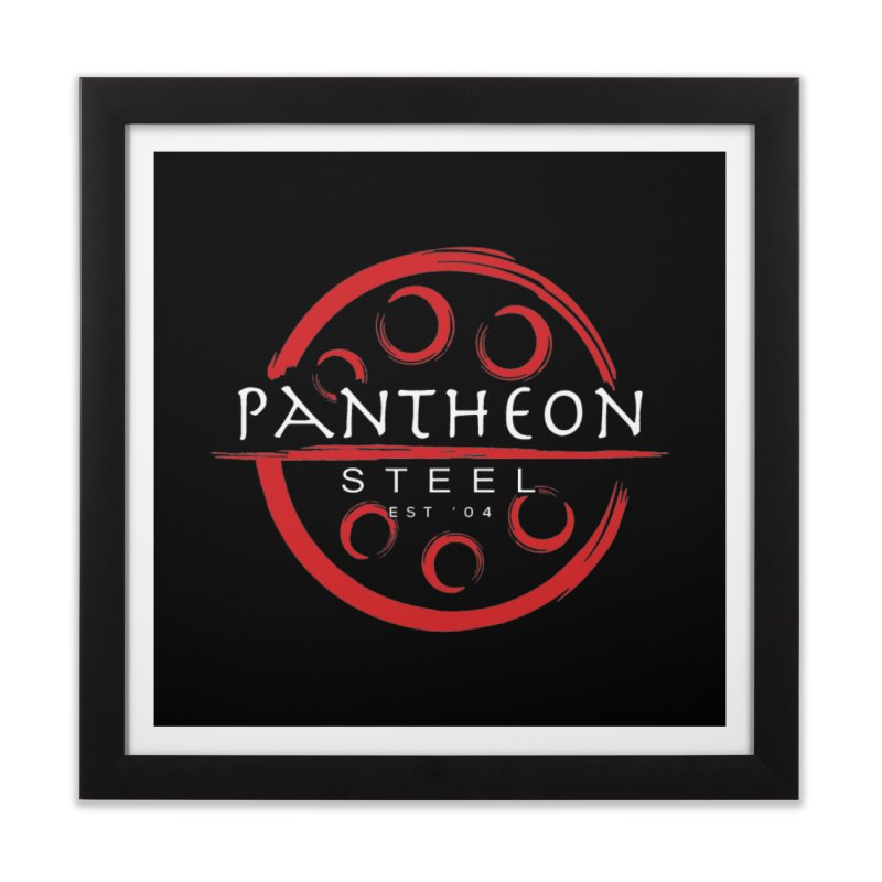 Insignia by Shane Caroll Home Framed Fine Art Print by Pantheon Steel Fan-Art Store
