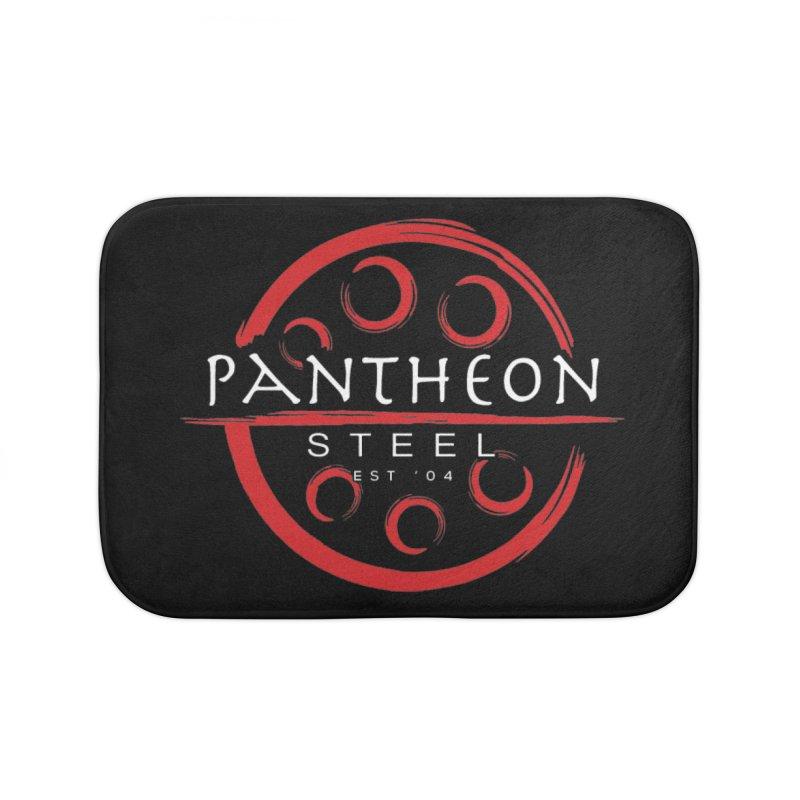 Insignia by Shane Caroll Home Bath Mat by Pantheon Steel Fan-Art Store