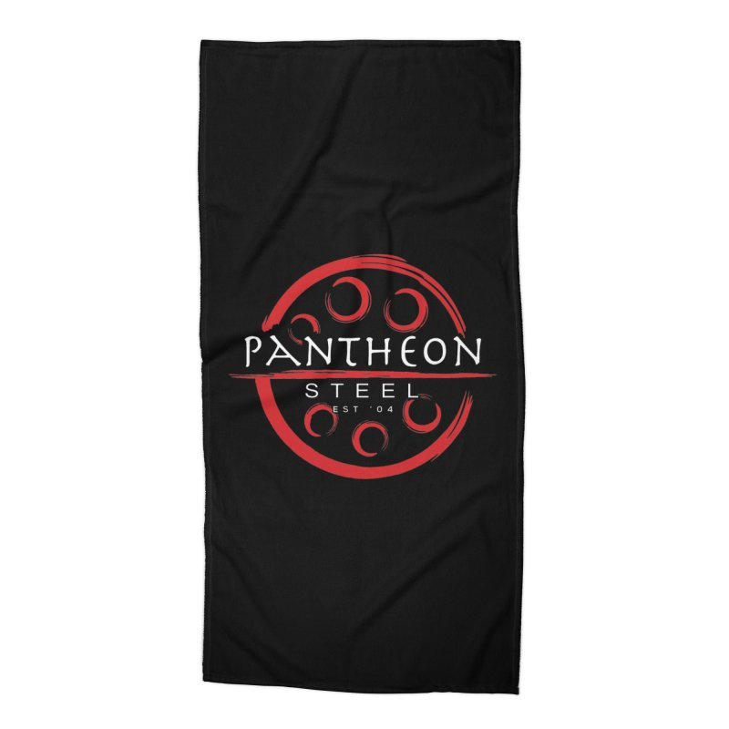 Insignia by Shane Caroll Accessories Beach Towel by Pantheon Steel Fan-Art Store