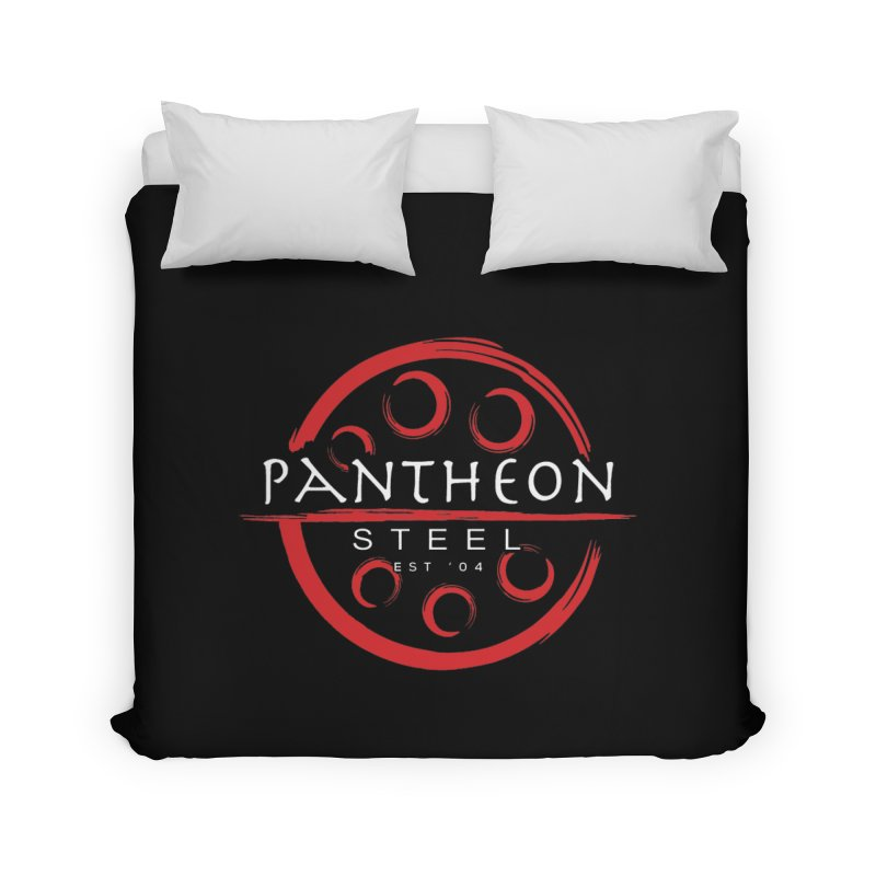 Insignia by Shane Caroll Home Duvet by Pantheon Steel Fan-Art Store