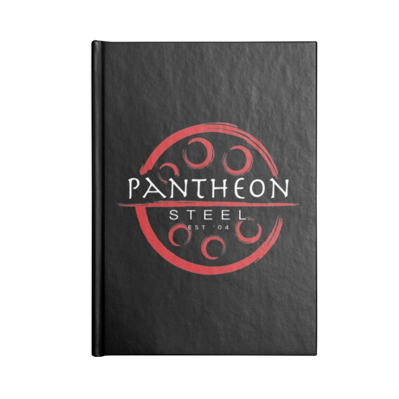 Insignia by Shane Caroll Accessories Blank Journal Notebook by Pantheon Steel Fan-Art Store