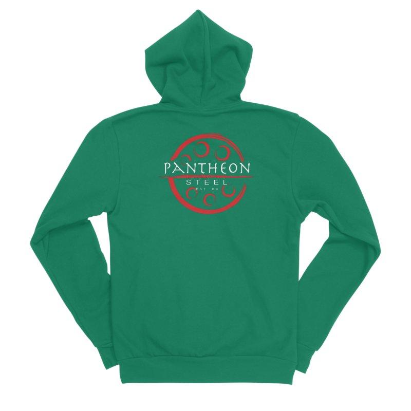 Insignia by Shane Caroll Men's Sponge Fleece Zip-Up Hoody by Pantheon Steel Fan-Art Store