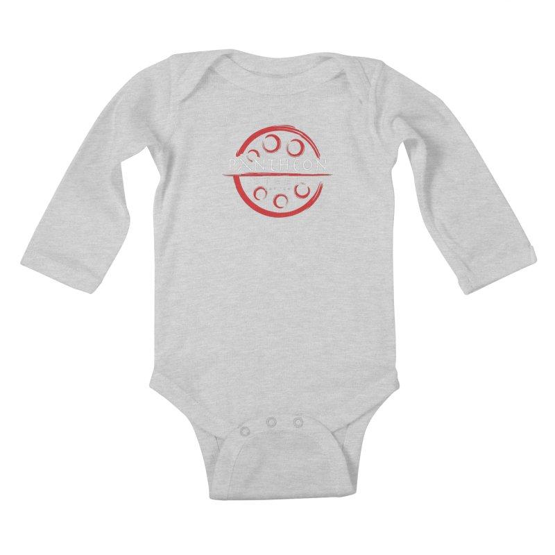 Insignia by Shane Caroll Kids Baby Longsleeve Bodysuit by Pantheon Steel Fan-Art Store