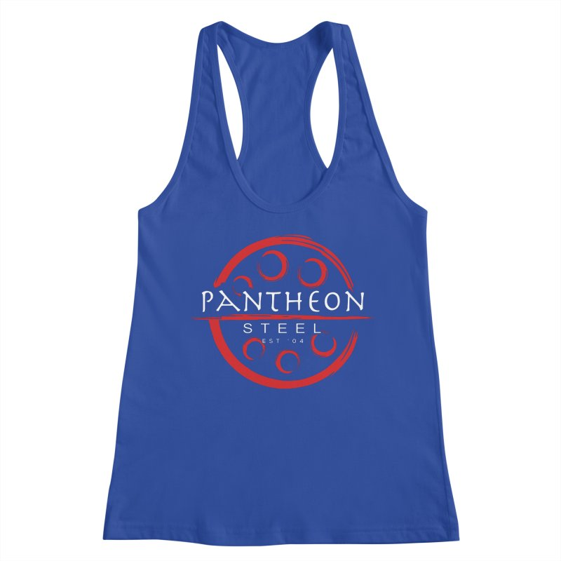 Insignia by Shane Caroll Women's Racerback Tank by Pantheon Steel Fan-Art Store