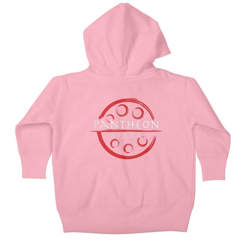Insignia by Shane Caroll Kids Baby Zip-Up Hoody by Pantheon Steel Fan-Art Store