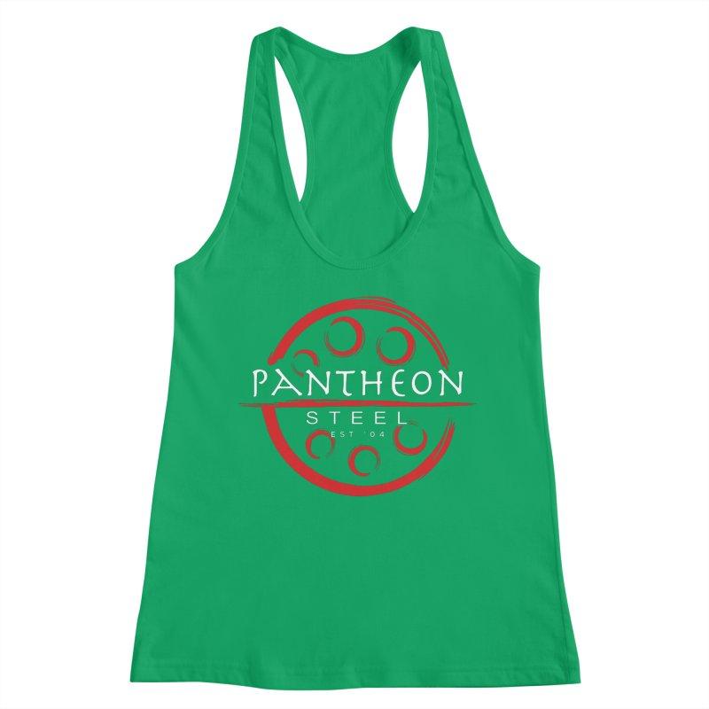 Insignia by Shane Caroll Women's Racerback Tank by Pantheon Steel Fan-Art Store