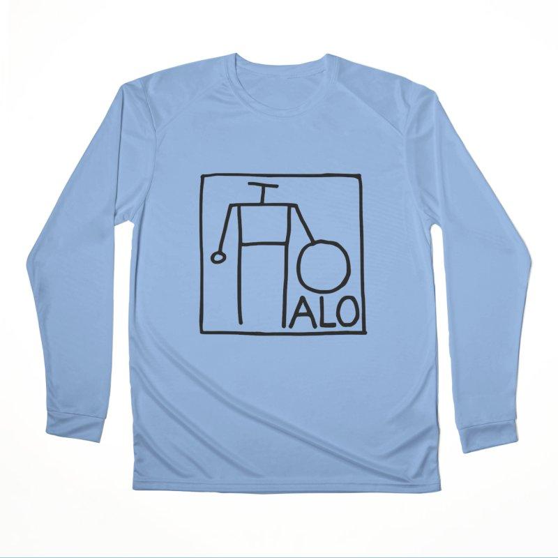 Stick Figure by Hobo Artist Men's Performance Longsleeve T-Shirt by Pantheon Steel Fan-Art Store