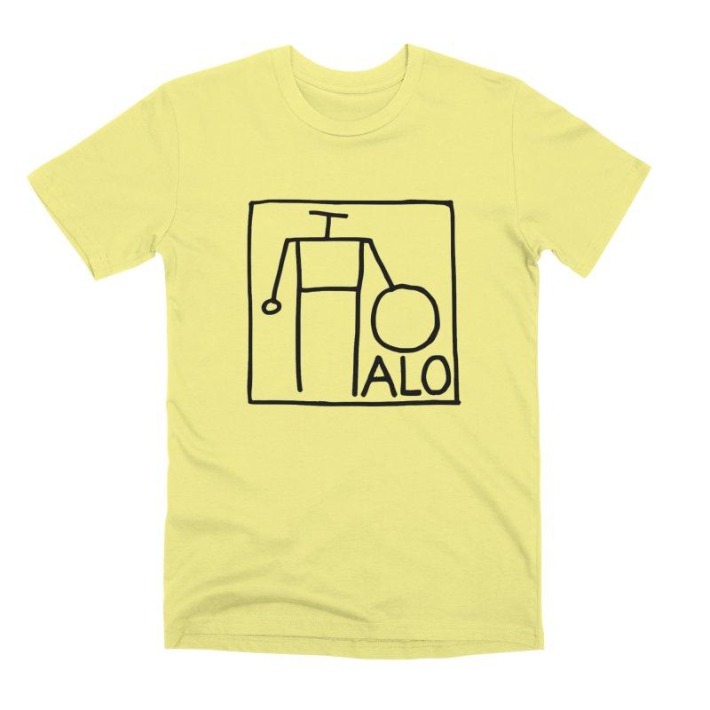 Stick Figure by Hobo Artist Men's Premium T-Shirt by Pantheon Steel Fan-Art Store
