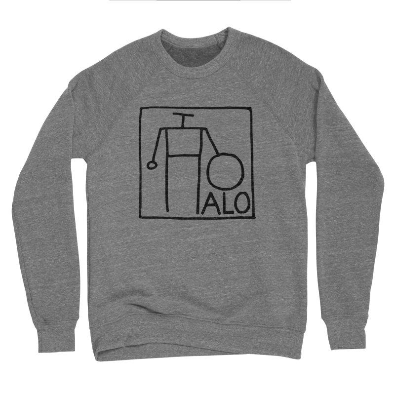 Stick Figure by Hobo Artist Men's Sponge Fleece Sweatshirt by Pantheon Steel Fan-Art Store