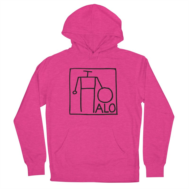 Stick Figure by Hobo Artist Women's French Terry Pullover Hoody by Pantheon Steel Fan-Art Store