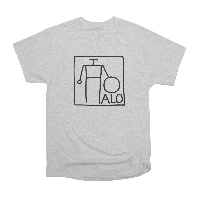 Stick Figure by Hobo Artist Women's Heavyweight Unisex T-Shirt by Pantheon Steel Fan-Art Store