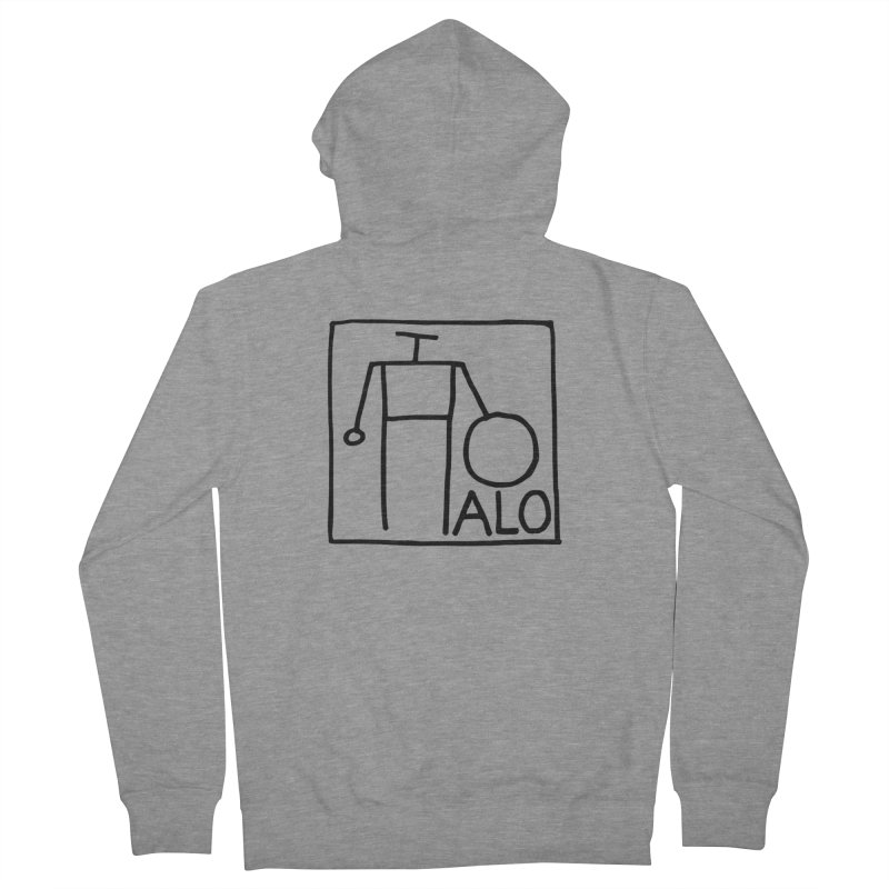 Stick Figure by Hobo Artist Men's French Terry Zip-Up Hoody by Pantheon Steel Fan-Art Store